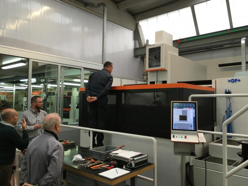 High Performance Machinery Gf Machining Solutions Agie